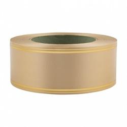 Лента с золотой полосой 5 см