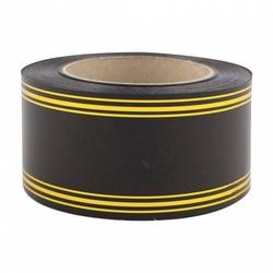 Лента с золотой полосой 6 см