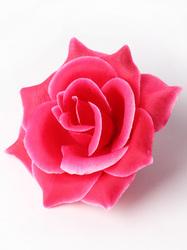 Голова розы хлопок 4 сл. диам. 9 см