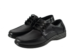 Туфли мужские кожзам на шнурках