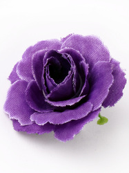 Голова розы шелк диам. 3,8 см