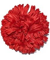 Голова гвоздики шелк 4 сл. диам. 13 см
