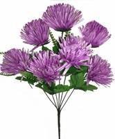 Букет хризантем игольчатых 7 г. выс. 57 см