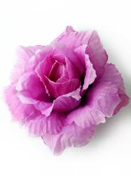 Голова розы пл.шелк 4 сл. диам. 11,5 см