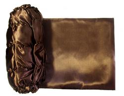 Обивка для гроба атлас 120 г/м шоколад