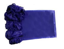 Обивка для гроба шелк 190Т синий