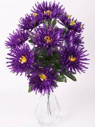 Букет хризантем игольчатых 9 г. выс. 60 см