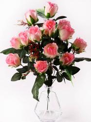 Букет роз натуральных 14 г. выс. 58 см