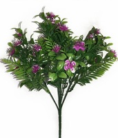 Букет мелкоцвета пластик 25 г. 30 см