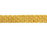 Тесьма прямая золото 2,5