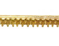 Тесьма золото 2,7 см