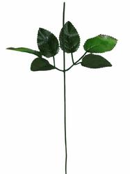 Стебель для розы с листом 42 см