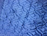 Термостежка шелк (синтепон 80 г/м) синий