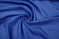 Шелк подкладочный синий