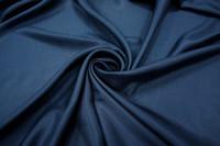 Шелк подкладочный темно-синий