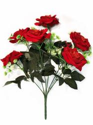 Букет бархатных роз 6 г. выс. 41 см