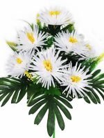 Букет хризантем 12 г. выс. 53 см