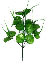Подбукетник с листьями и добавками 7 гол. выс. 43 см