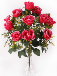 Букет бутонов роз с добавками 11 г. выс. 45 см