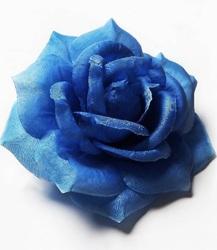 Голова розы шелк 5 сл. диам. 13 см