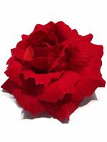 Голова розы бархат 5 сл. диам. 12 см