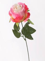 Ветка бутона розы нетканое полотно 6 сл. диам. 8 см выс. 51 см