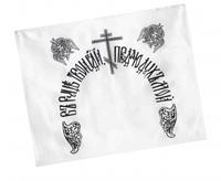 Наволочка атласная с церковной печатью