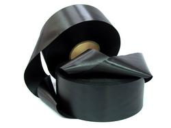 Сатиновая лента 80 мм Х 200 м черный