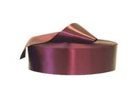 Сатиновая лента 80 мм Х 200 м бордовый