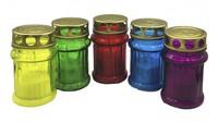 Лампада неугасимая залитая (стекло) mix H10,5