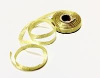 Лента золотая 1 см