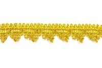 Тесьма золото 3,7 см